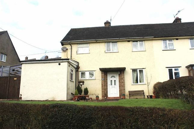 Thumbnail Semi-detached house for sale in 4, Bron Y Gaer, Llanfyllin, Powys