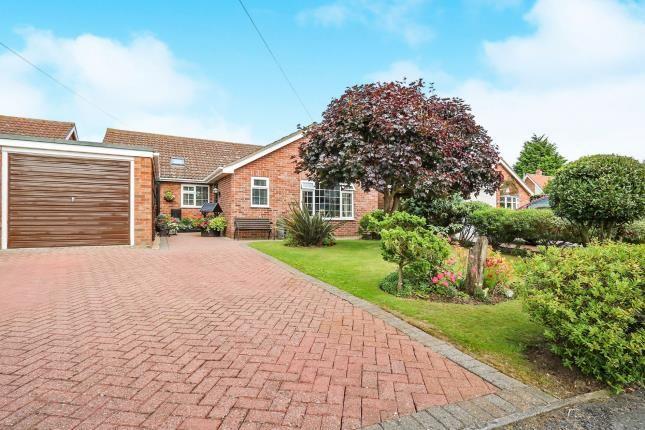 Thumbnail Bungalow for sale in Hethersett, Norwich, Norfolk