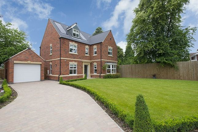 Thumbnail Detached house for sale in Carriage Close Nottingham