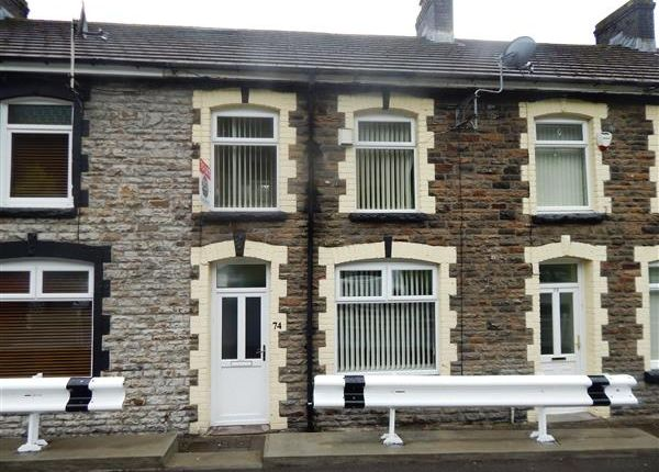 Thumbnail Terraced house to rent in Edward Street, Maerdy, Ferndale