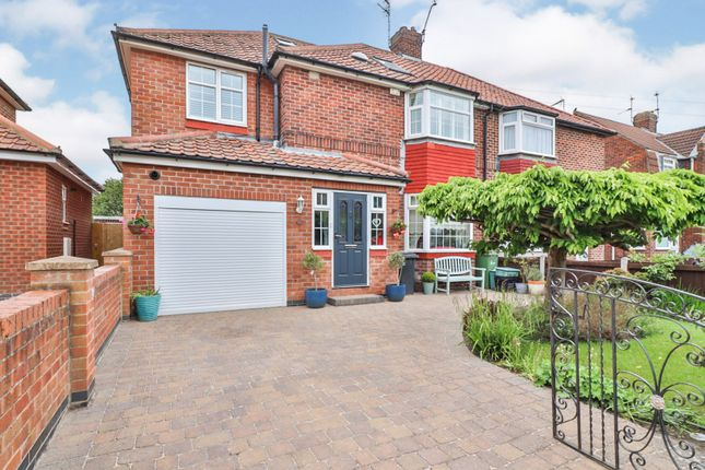 Thumbnail Semi-detached house for sale in Brompton Road, York