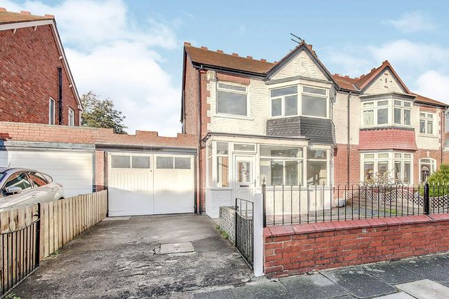 Thumbnail Semi-detached house to rent in Townsville Avenue, Whitley Bay