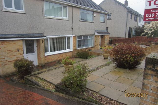 Thumbnail Semi-detached house to rent in Cae Newydd Close, Michaelston-Super-Ely, Cardiff