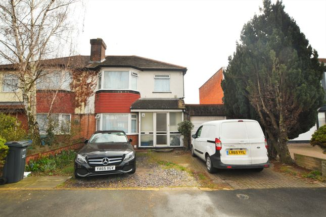 Thumbnail Semi-detached house for sale in Lulworth Avenue, Hounslow