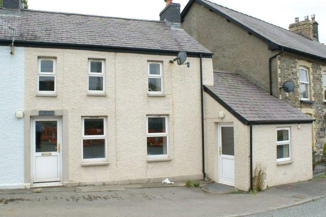 Thumbnail Terraced house for sale in Cwrtnewydd, Llanybydder