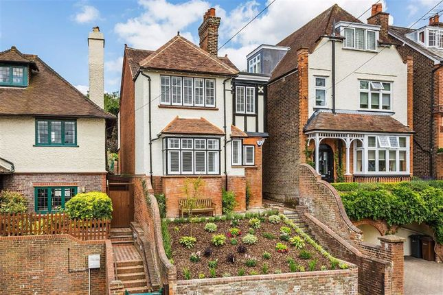 Thumbnail Detached house for sale in South Hill, Guildford, Surrey