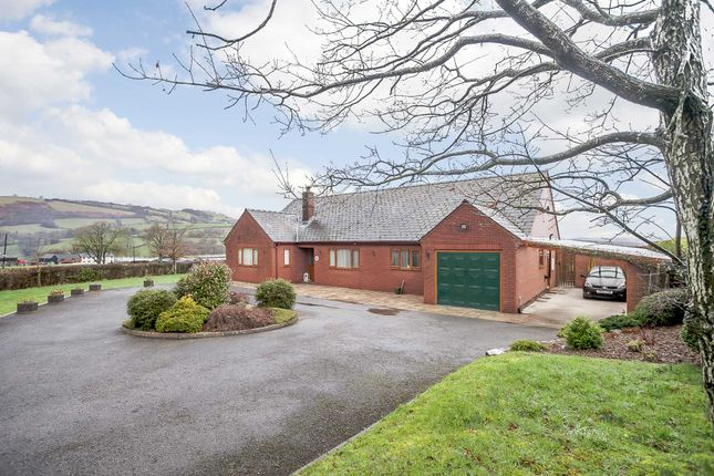 Thumbnail Bungalow for sale in Trefeglwys, Caersws, Powys