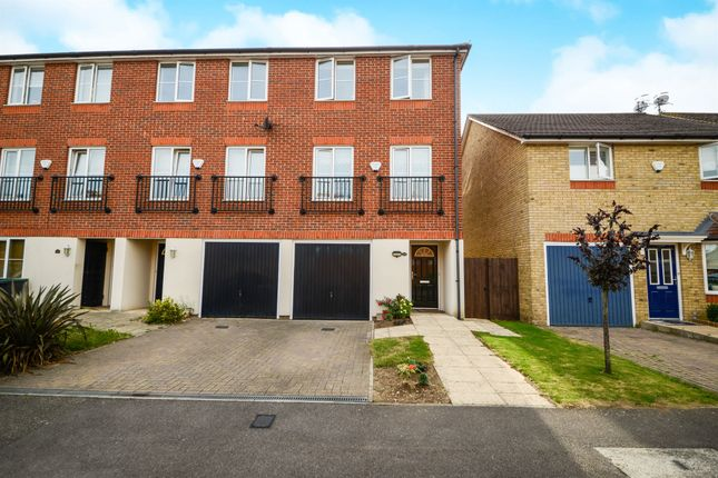 Thumbnail End terrace house for sale in Edson Close, Leavesden, Watford
