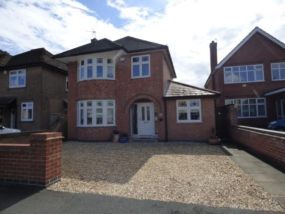 Thumbnail Detached house for sale in Trenton Drive, Long Eaton, Nottingham