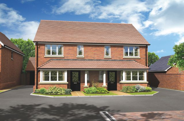 "Thumbnail Property for sale in ""The Leith"" at Basingstoke Road, Spencers Wood, Reading"