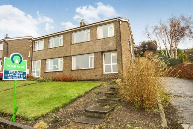 Thumbnail Semi-detached house for sale in Park Road, Low Moor, Bradford