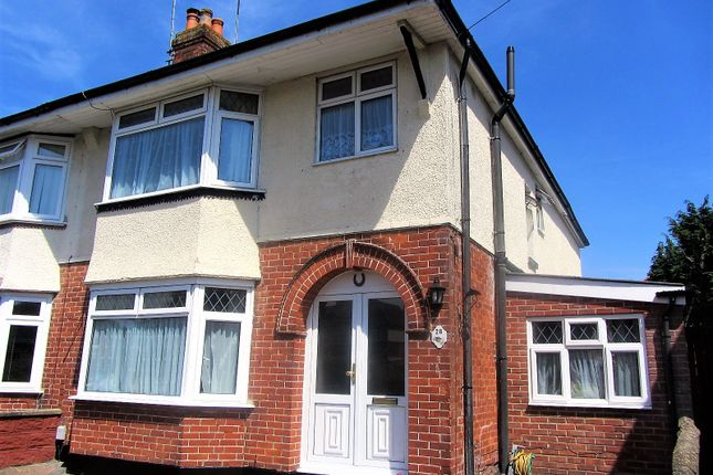 Thumbnail Semi-detached house for sale in Brookside Avenue, Southampton, Hampshire