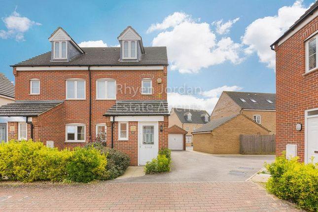 Thumbnail Semi-detached house for sale in Lockhart Avenue, Oxley Park, Milton Keynes