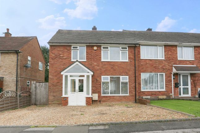 Thumbnail End terrace house for sale in Chatsworth Crescent, Walsall
