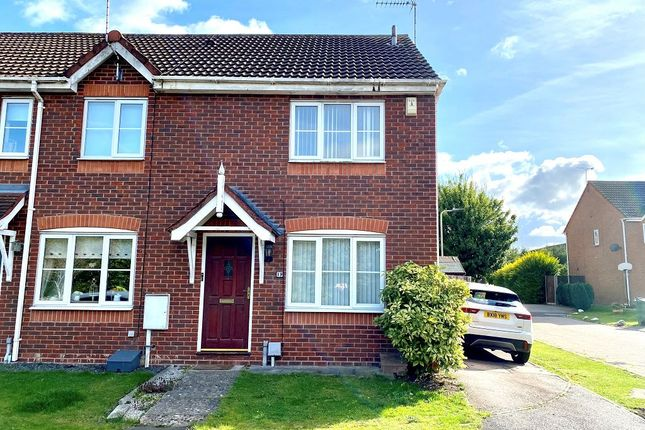 2 bed end terrace house to rent in Robotham Close, Narborough, Leicester LE19