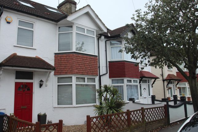 Thumbnail End terrace house to rent in Westbourne Terrace, Croydon