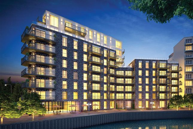 Thumbnail 1 bed flat for sale in Leven Wharf Leven Road, London, Poplar, London