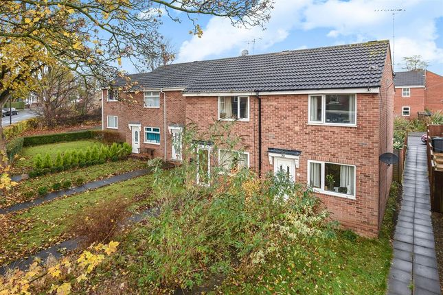 Thumbnail End terrace house for sale in Fairfield Road, Tadcaster, North Yorkshire