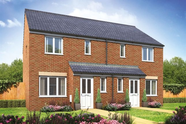 "3 bedroom semi-detached house for sale in ""The Hanbury"" at Oakdale, Blackwood"