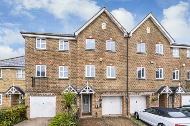 Thumbnail Town house for sale in Montague Hall Place, Bushey Village