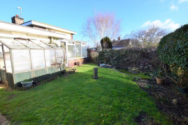 Rear Garden of The Square, Pevensey Bay BN24