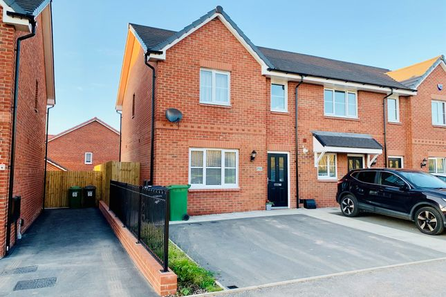 Thumbnail Semi-detached house for sale in Atholl Duncan Drive, Upton, Wirral