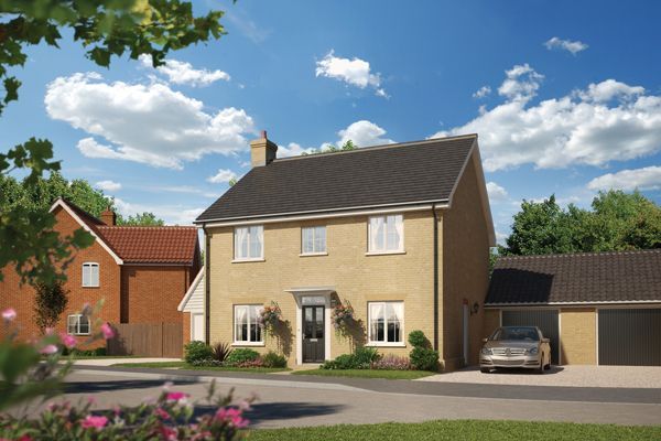 Thumbnail Detached house for sale in Halstead Road, Stanway, Essex