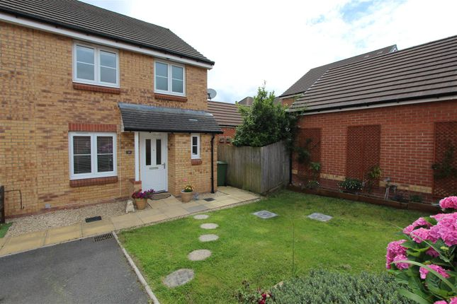 Thumbnail Semi-detached house for sale in Waun Draw, Caerphilly