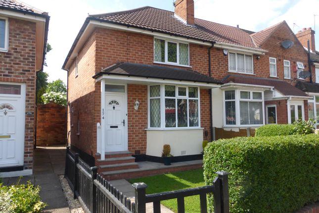 Thumbnail Semi-detached house to rent in Birdbrook Road, Kingstanding, Birmingham
