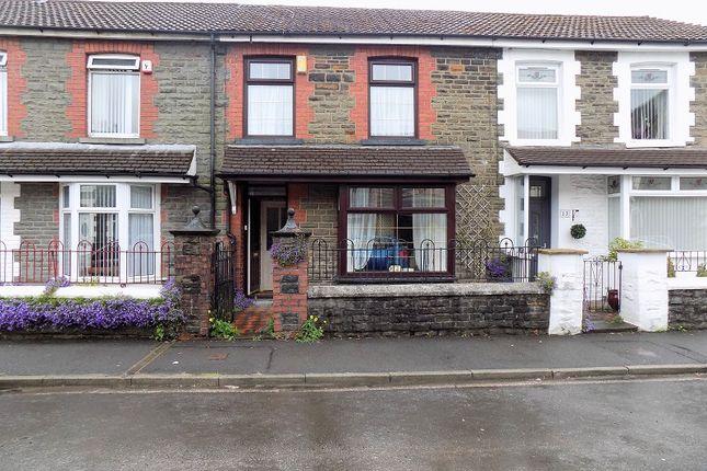 3 bed terraced house for sale in Hill Street, Treherbert, Rhondda Cynon Taff. CF42