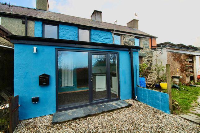 Thumbnail Terraced house for sale in Bryn Teg Terrace, Rhiwlas, Bangor