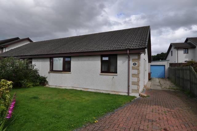 Thumbnail Semi-detached house for sale in 43 Mannachie Grove, Forres