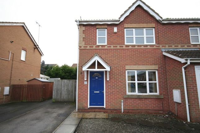 Thumbnail Semi-detached house to rent in Sailors Wharf, Hull