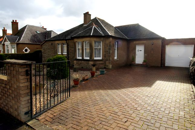 Thumbnail Detached bungalow for sale in House O Hill Crescent, Edinburgh