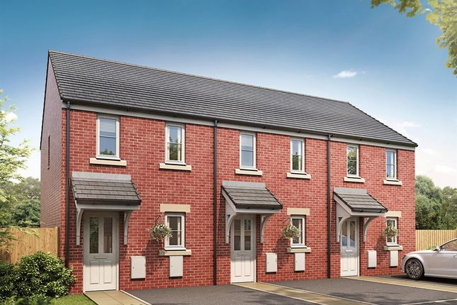 "Thumbnail End terrace house for sale in ""The Morden"" at Pendderi Road, Bynea, Llanelli"