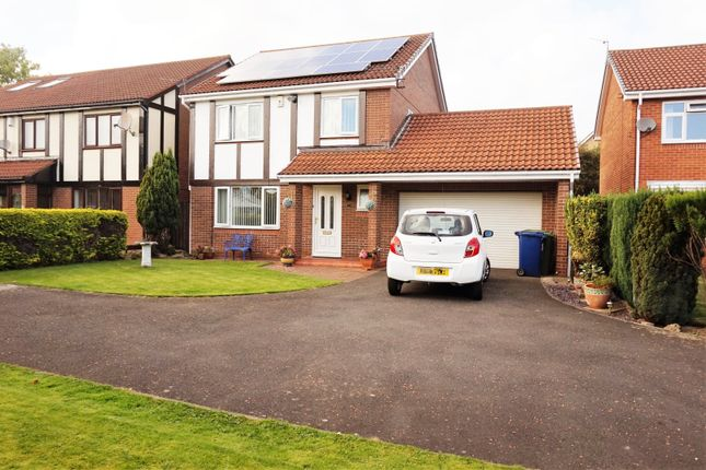 Thumbnail Detached House For Sale In Brownlow Close Victoria Glade Newcastle