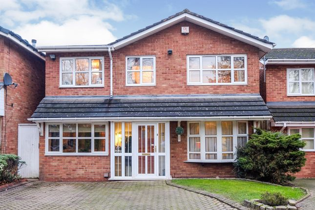 Thumbnail Detached house for sale in Hamstead Hall Road, Handsworth Wood, Birmingham