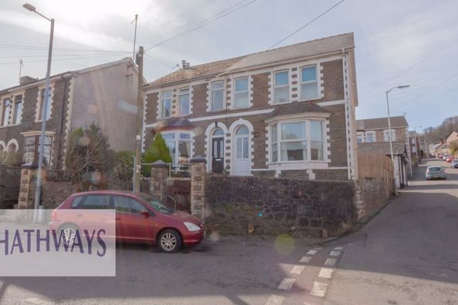 Thumbnail Semi-detached house for sale in Wainfelin Road, Wainfelin, Pontypool