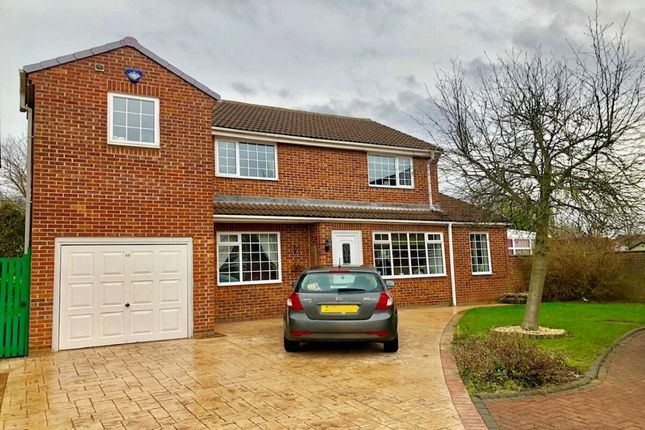Thumbnail Detached house for sale in Fox Howe, Coulby Newham, Middlesbrough