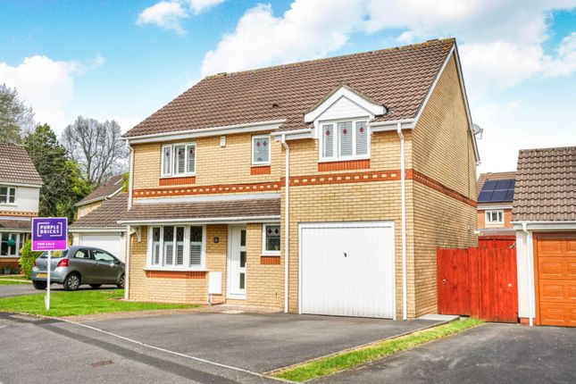 Thumbnail Detached house for sale in Charlock Close, Thornhill