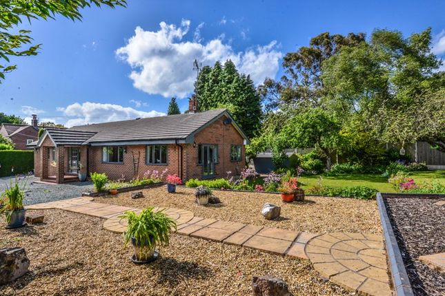 Thumbnail Detached bungalow for sale in Newcastle Road, Ashley Heath, Market Drayton
