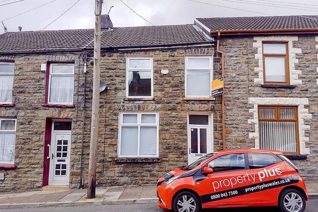 Thumbnail Terraced house to rent in Queen Street, Pentre
