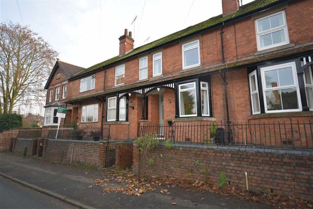 Thumbnail Terraced house to rent in Fishpond Lane, Tutbury, Derbyshire