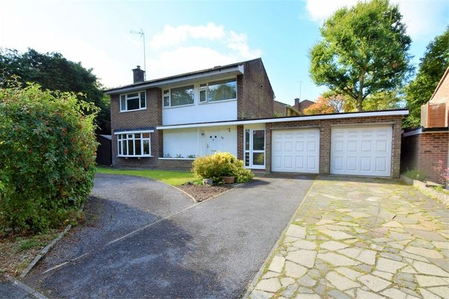 Thumbnail Detached house for sale in Goldney Road, Camberley, Surrey