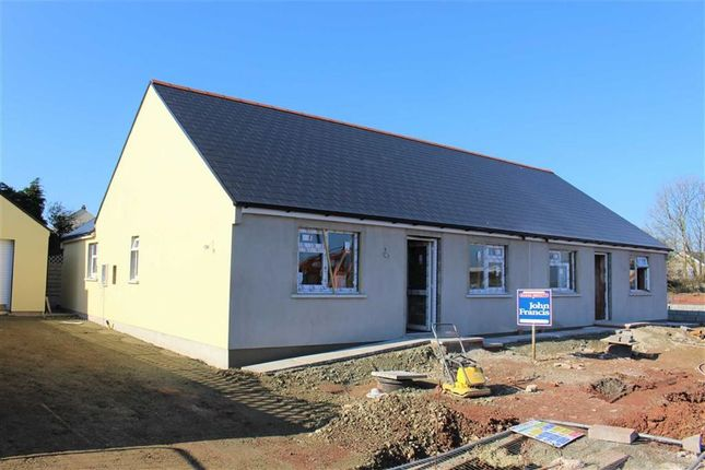 Thumbnail Semi-detached bungalow for sale in Bowett Close, Hundleton, Pembroke