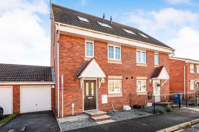 Thumbnail Semi-detached house for sale in Acasta Way, Hull