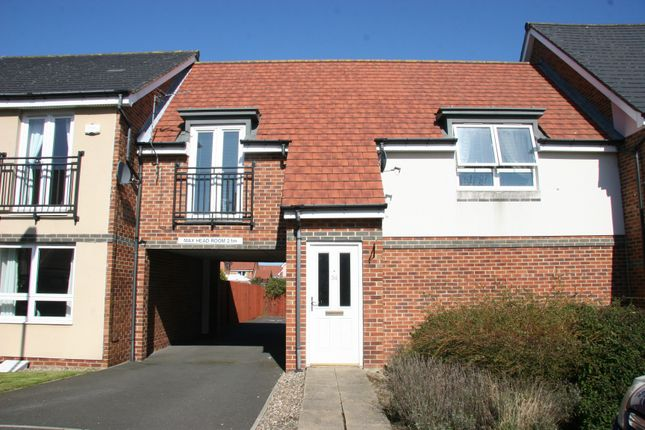 Thumbnail Flat to rent in Hindmarsh Drive, Ashington, Northumberland