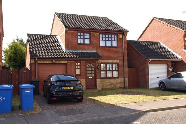Thumbnail Detached house to rent in Chaukers Crescent, Carlton Colville, Lowestoft