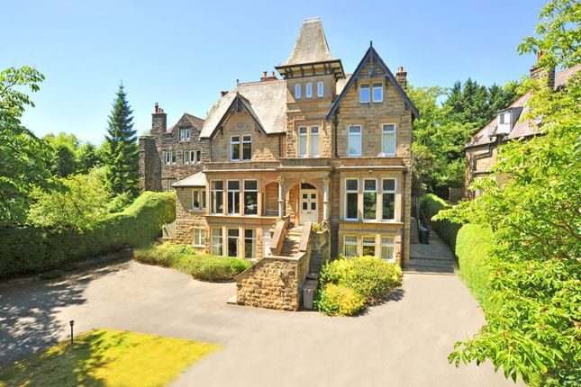 Thumbnail Flat for sale in Clarence Drive, Harrogate