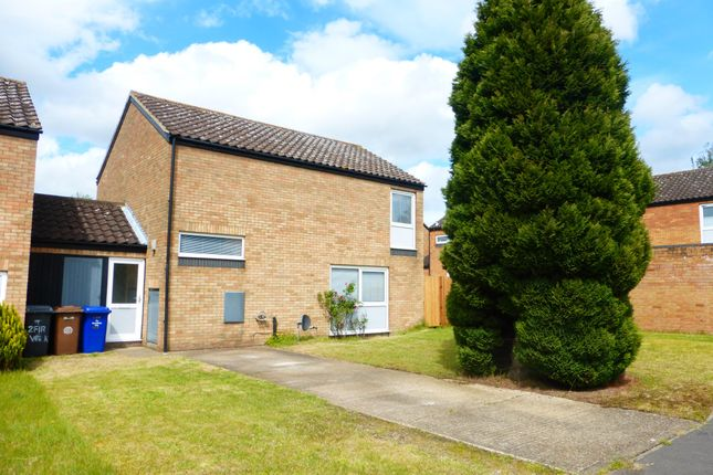 Thumbnail Terraced house to rent in Fir Walk, RAF Lakenheath, Brandon